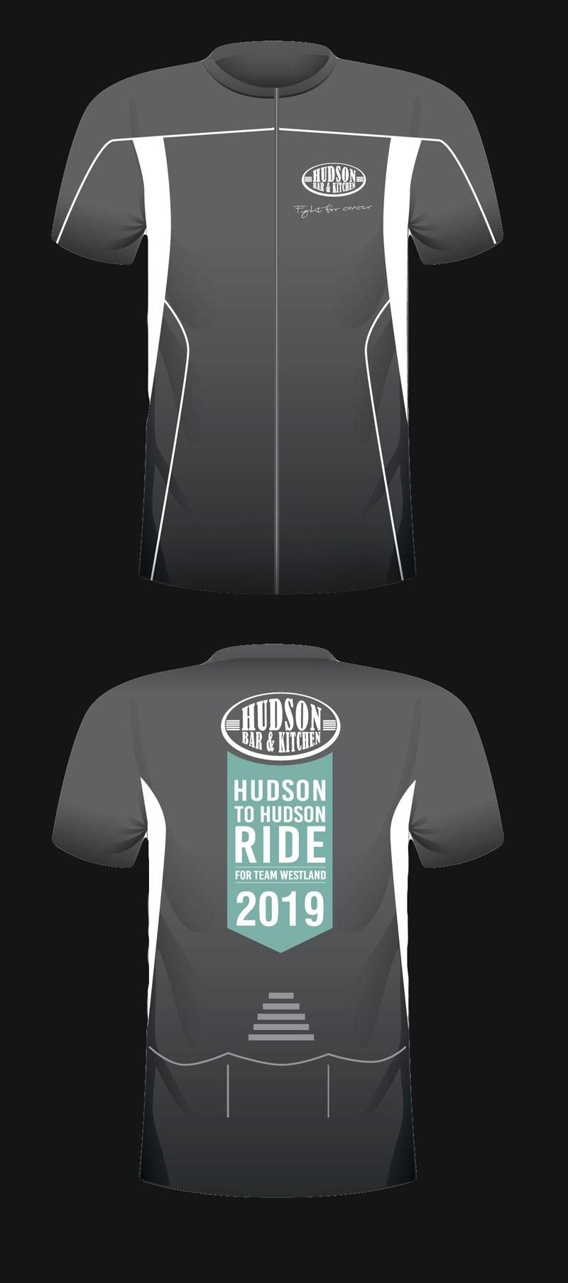 Hudson to Hudson Ride 2019 Shirts